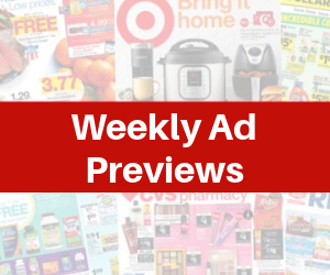 Weekly Ad Previews